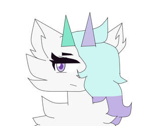 ms paint curve tool because my tablet is broken by FeraliXxi