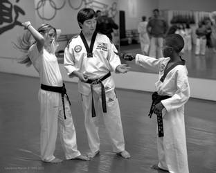 Black Belt  Knife Defense by PzlWksMedia