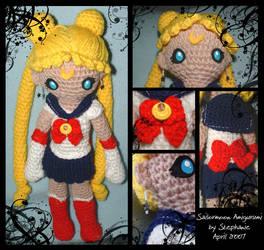 Sailormoon Amigurumi by craftylittlefingers