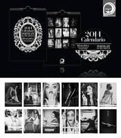 2014 Calendar - Portrait of Decadence - FOR SALE!! by ideareattiva