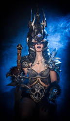 Arthas Menethil, The Lich King cosplay by jankeroodman