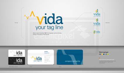 Vida Logo by submicron