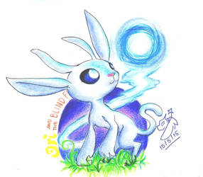 Ori and The Blind Forest Clean Scribble by Winged-Dragoness