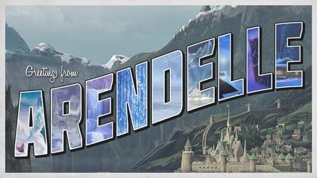 Greetings From Arendelle! by MorningWar