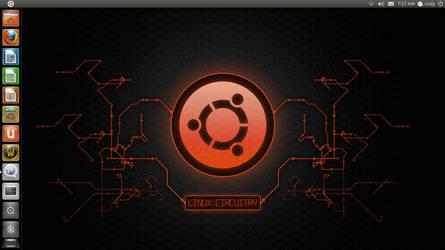 My Ubuntu Desktop by BaneOfEvil222