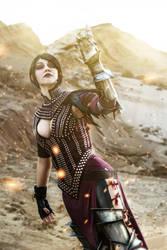 Dragon Age II - Morrigan cosplay by senedy