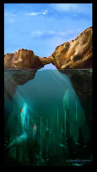 Underwater Arch by Prospektor