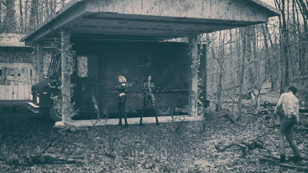 Evul n Badazz - Abandoned Gas Station by reserv888