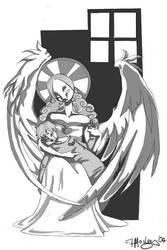 Sarah's Angel by hallu