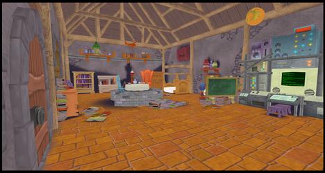 [MMD] Merlin's House - DL!!! by Otzipai-Art
