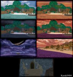 [MMD] Destiny Islands Pack - DL!!! by Otzipai-Art