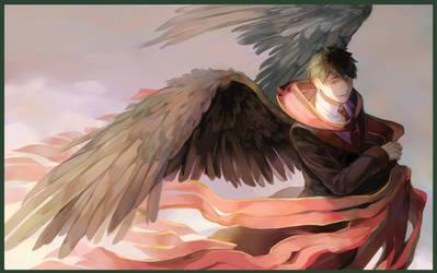 Commission: Heaven messenger by Taro-K