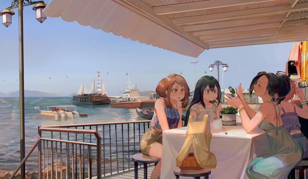 Boku no hero vacation by Taro-K
