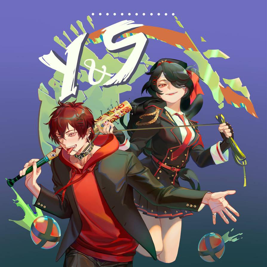Comm: Yoru and Seongjin by Taro-K