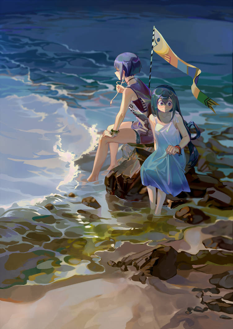 By the sea by Taro-K