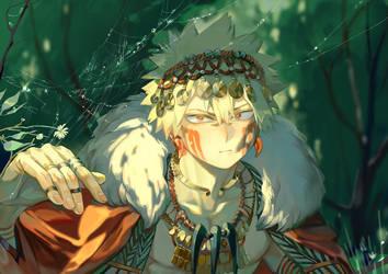 Fantasy version Bakugo by Taro-K