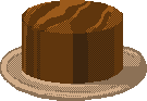 Day 13. Chocolate Cake. 25 Days of Pixels. by Cosmos-Centric