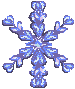 Day 17. Snow Flake. 25 Days of Pixels. by Cosmos-Centric