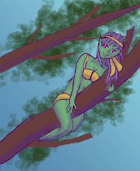 Tree Alien by Cosmos-Centric