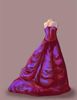 Red Dress by JoJoBynxFwee