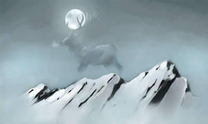 Moonstag by JoJoBynxFwee