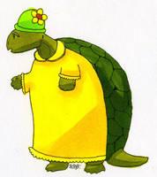 Miss Tortoise by JoJoBynxFwee