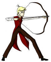 Lathan the Inaccurate Archer by JoJoBynxFwee