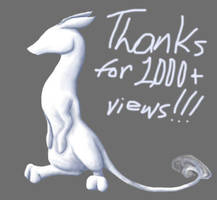 Thanks for 1000+ Pageviews by JoJoBynxFwee