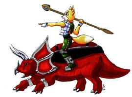 Fox and the Earthwalker by JoJoBynxFwee