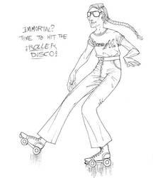 Roller Disco Van by JoJoBynxFwee