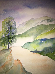 Composition 1 by JJWatercolor704