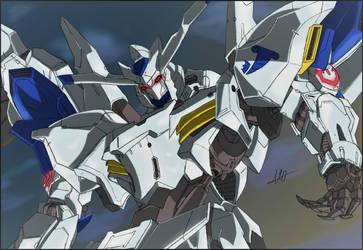 Gundam Bael by PrivateAzib