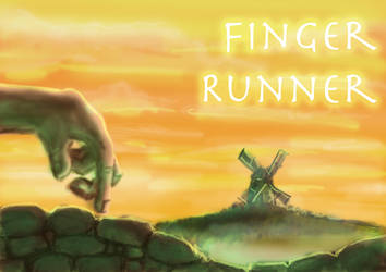 Finger Runner Game Concept by wallmasterr