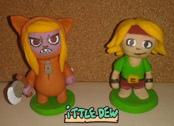 Ittle Dew Models by wallmasterr