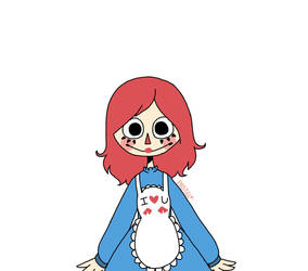 Raggedy Ann Doll Thing by YourFrenPastel