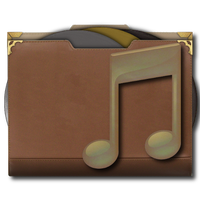 Steampu Victorian Music Folder Icon by pendragon1966