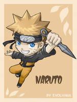 Naruto chibi comes back by Evolvana