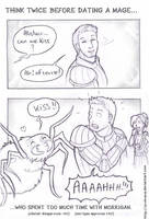 Alistair dating the mage Warden by Evolvana