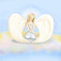 Angel of compassion by dinkydivas