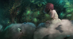 Totoro Paint Over by RodrigoICO