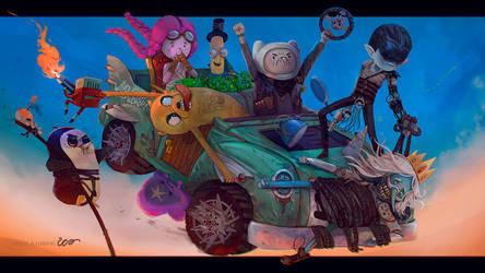 Mad Finn - Road OOO by RodrigoICO