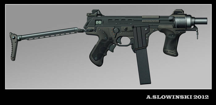 BMD-2 Micron SMG by BlackDonner