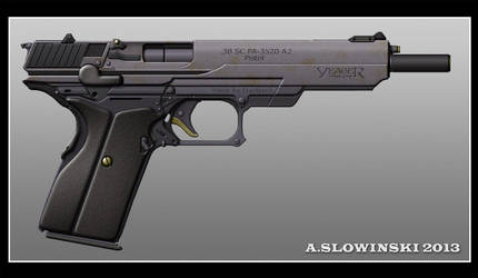 Yeager PA-3520 A2 Pistol by BlackDonner