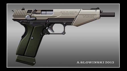 38 SC PA-3420 A8 Machine Pistol by BlackDonner