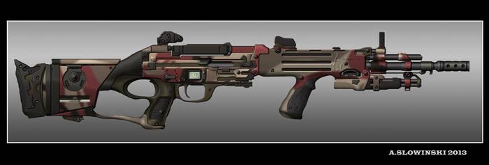 Action Custom G-12 Battle Rifle by BlackDonner