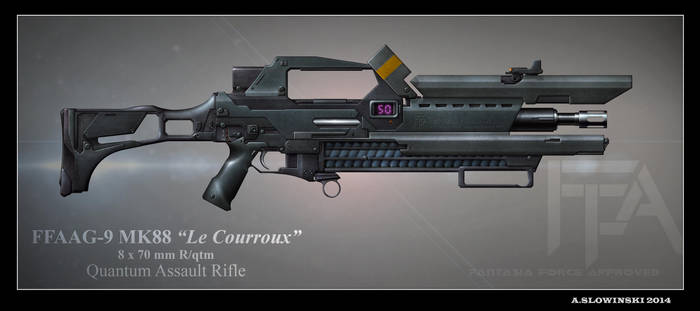 Le Courroux FFAAG-8 MK85 (Original) by BlackDonner