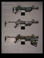TKT XHM-4045CX Assault Rifle by BlackDonner