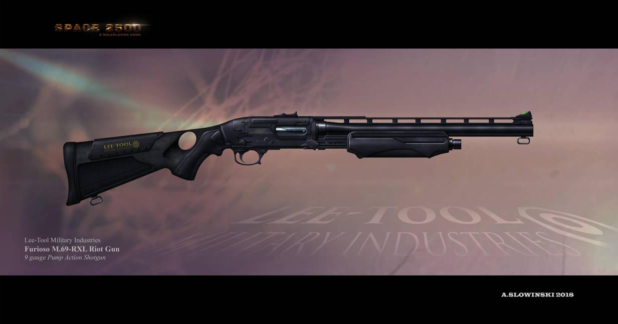 Furioso M69-RXL Riot Gun by BlackDonner