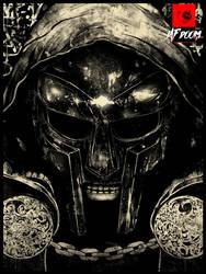MF Doom by SunTurnsIntoWater