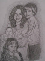 Family drawing by CierraFrye